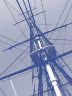 USS Constitution's Rigging, Photo © Bob Nixon
